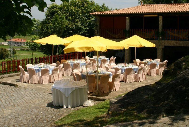 Mesas para eventos no exterior
