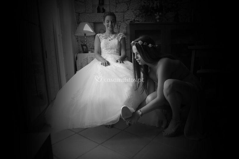 Preparação casamento