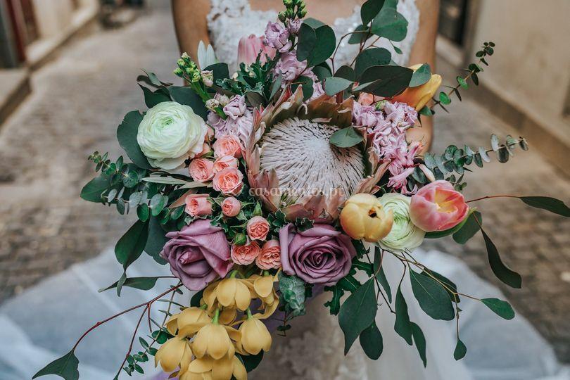 Bouquet de noiva 2018