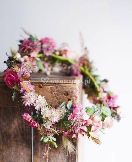 Toucado floral