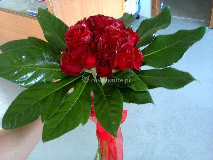 Ramo com rosas