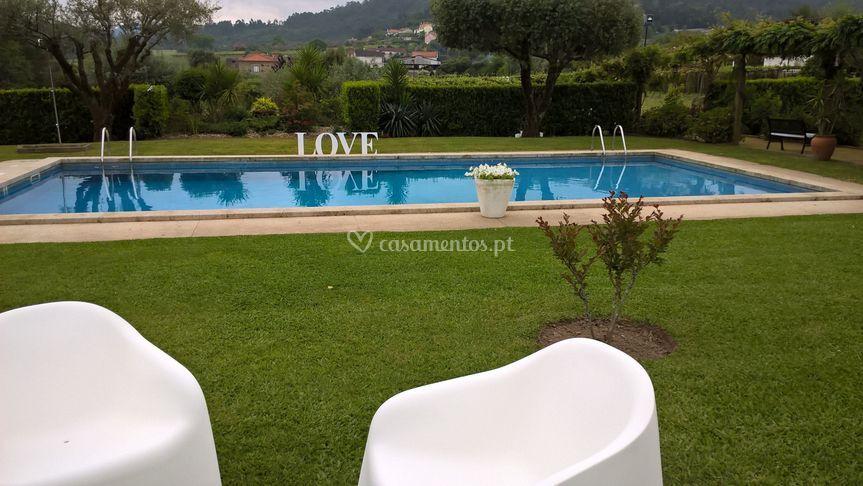 Jardim,piscina