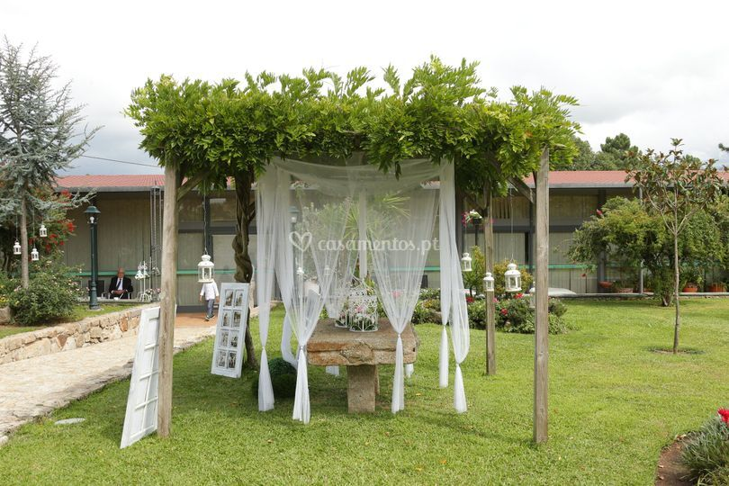 Jardim e decoração
