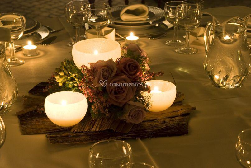 Ambiente à mesa