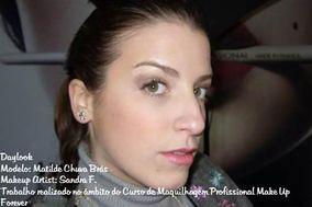 Sandra F. Makeup