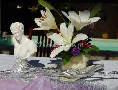 Detalhe de mesa