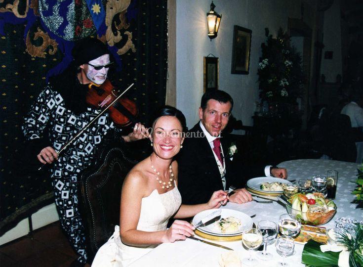 Pierrot casamento