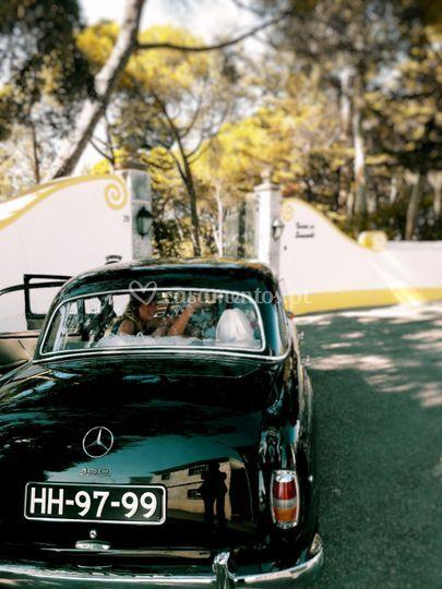 Vintage escape bride