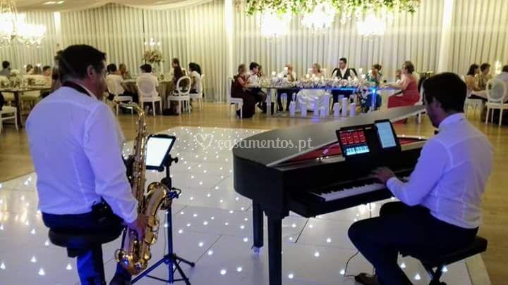 Piano & sax