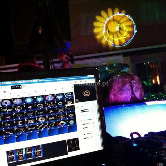 Show Laser - DJ Pepper