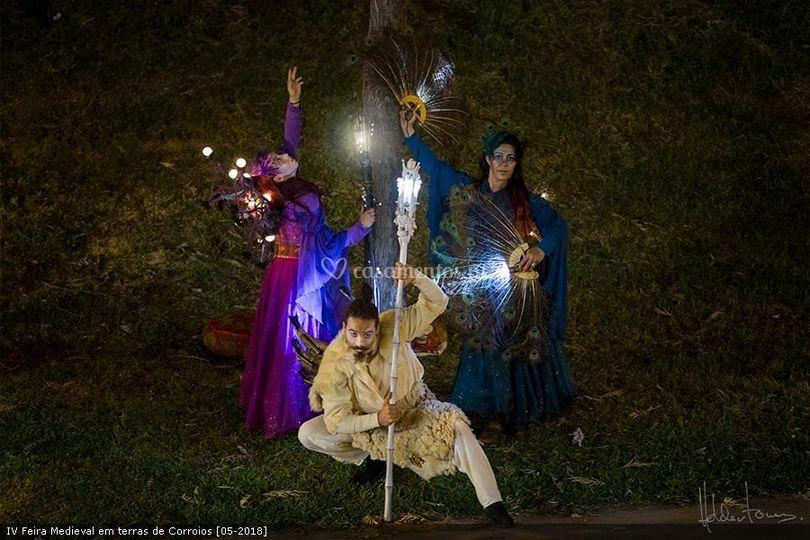 Os seres mágicos da floresta