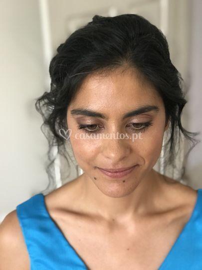 Maquilhagem cerimónia