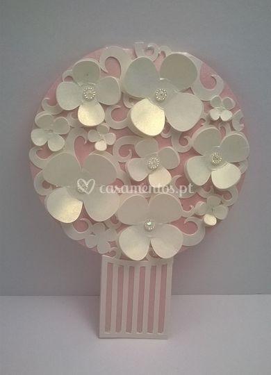 Convite bouquet