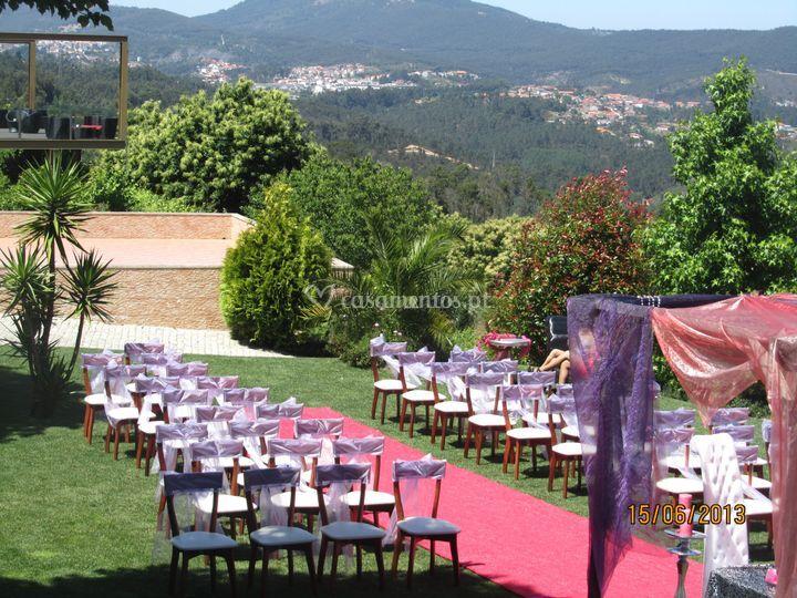 Quinta D. José casamento ao ar livre