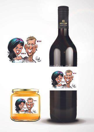 Personalização com caricatura