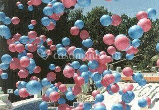 Balões soltos