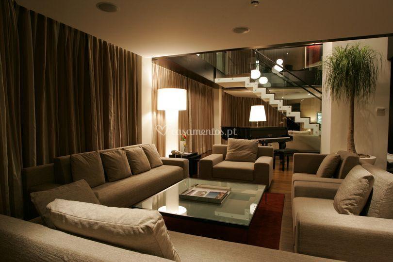 Montebelo viseu hotel spa for Sala de estar de un hotel