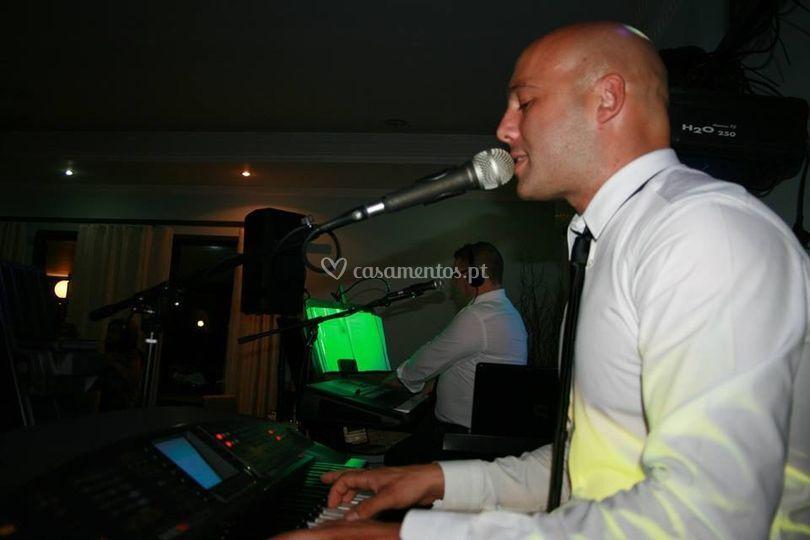 A paixão de cantar