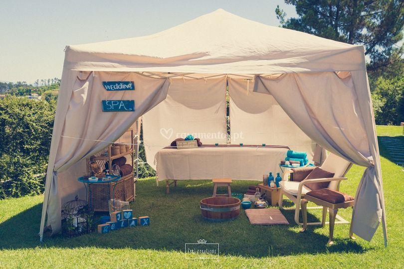 Wedding spa