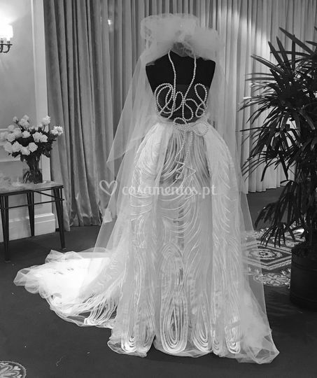 Vestido Noiva Dama em Renda