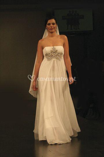 Vestido noiva - cristina lopes