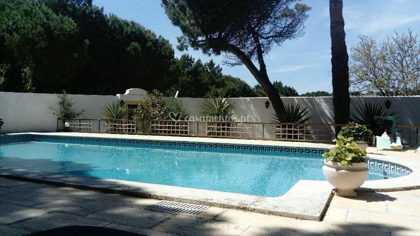 Quinta do Camejo piscina