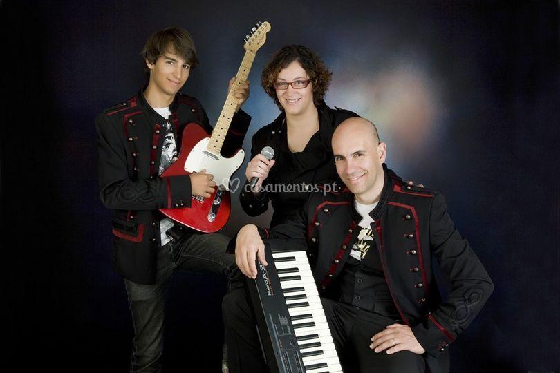 Os músicos e seus instrumentos