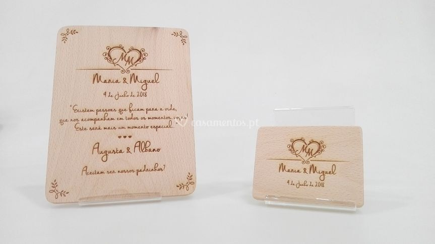 Convites madeira