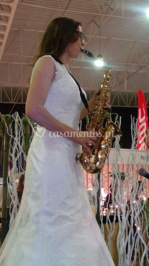 Saxofonista - Luz Alves