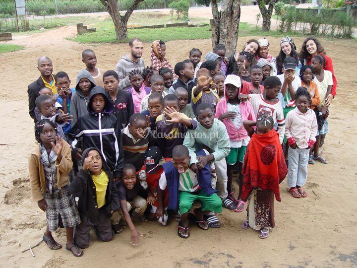 Voluntariado em Moçambique