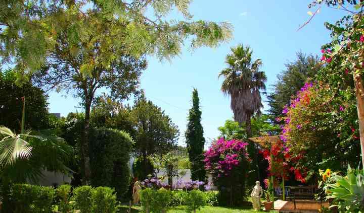 Jardim floral
