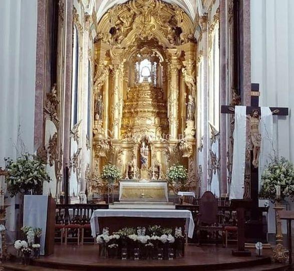 Interior de igrejas