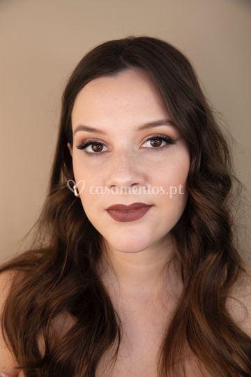 Exemplo de eyeliner esfumado