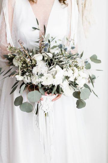 Aplique de bouquet