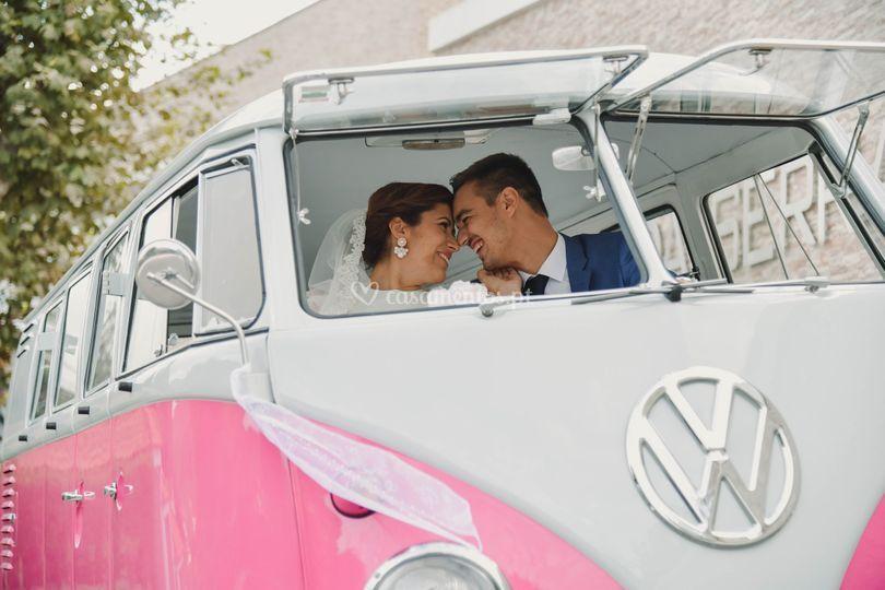 VW Van Rosa