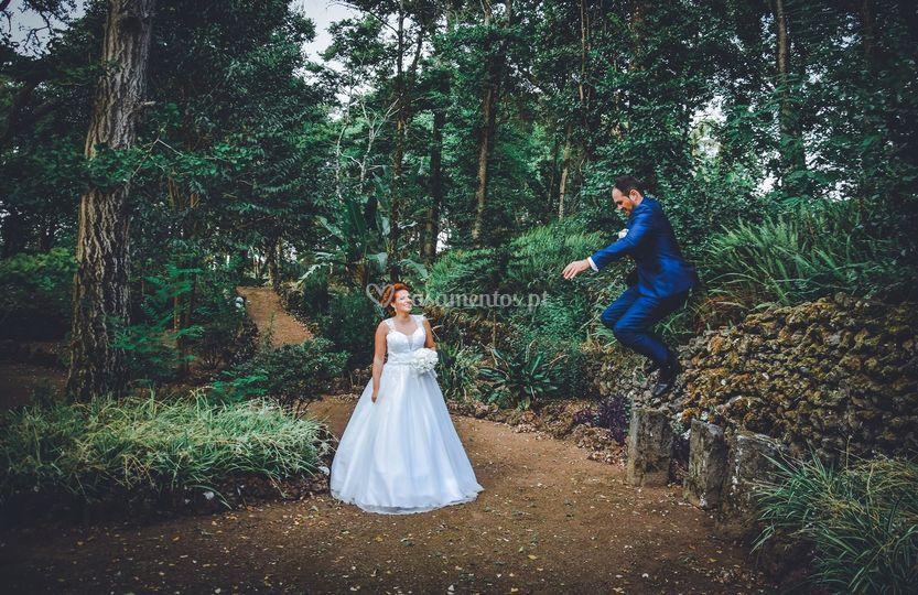 Casamento é alegria!