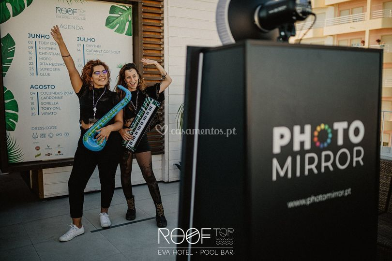 Espelho fotográfico