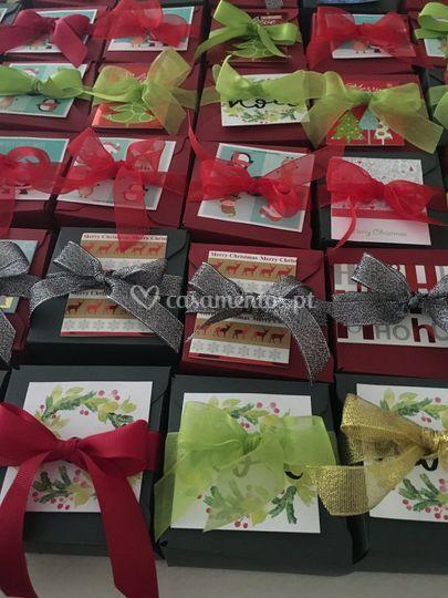 Lembranças de festa de natal