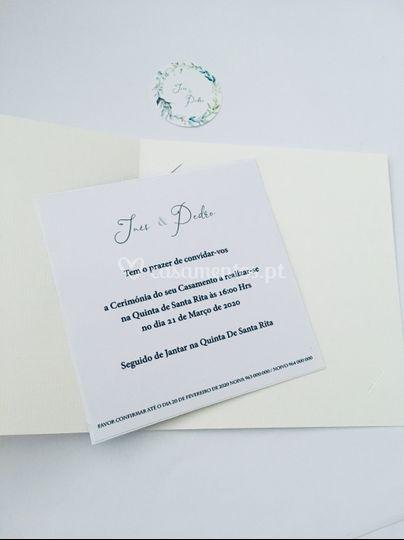 Convite Polaroid I&P