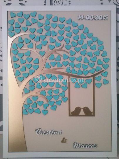 Árvore de digitais assinaturas