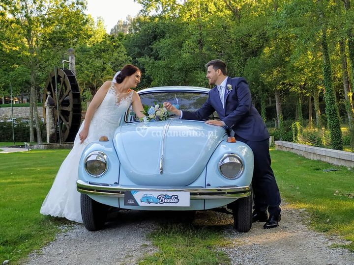 VW carocha blue