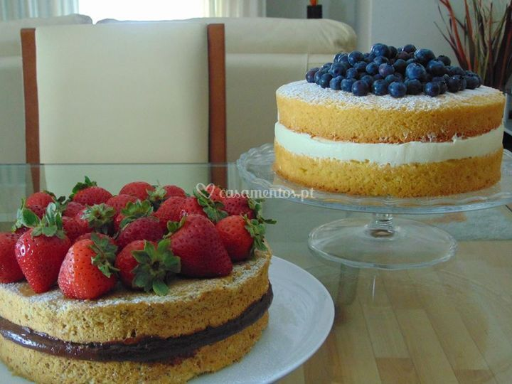 Naked cake's