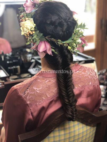 Noiva - Penteado