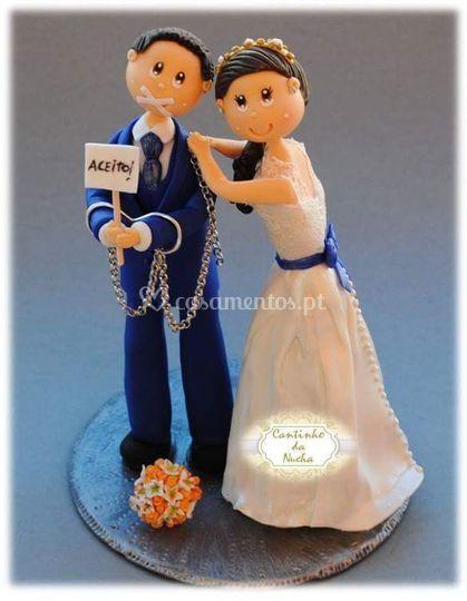 Cantinho da Nucha - Topo de bolo