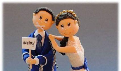 Cantinho da Nucha - Topo de bolo 1