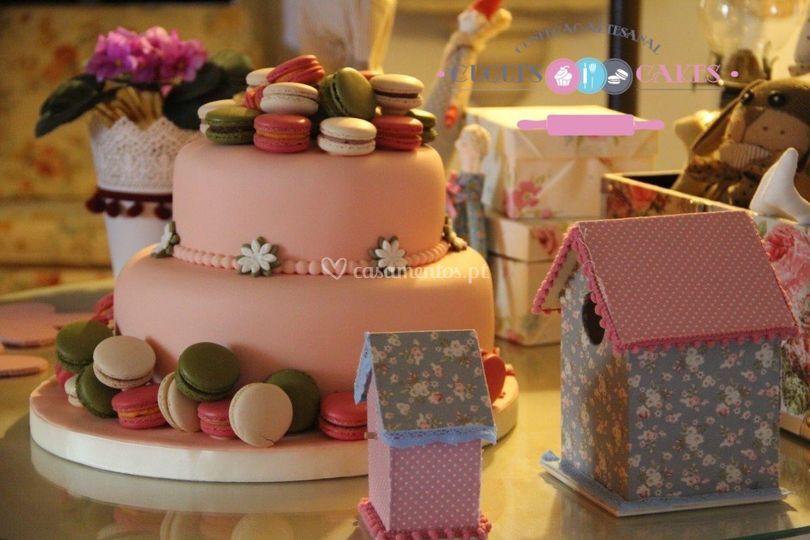 Batizado de Cuqui's Cakes