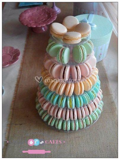 Torre macarons