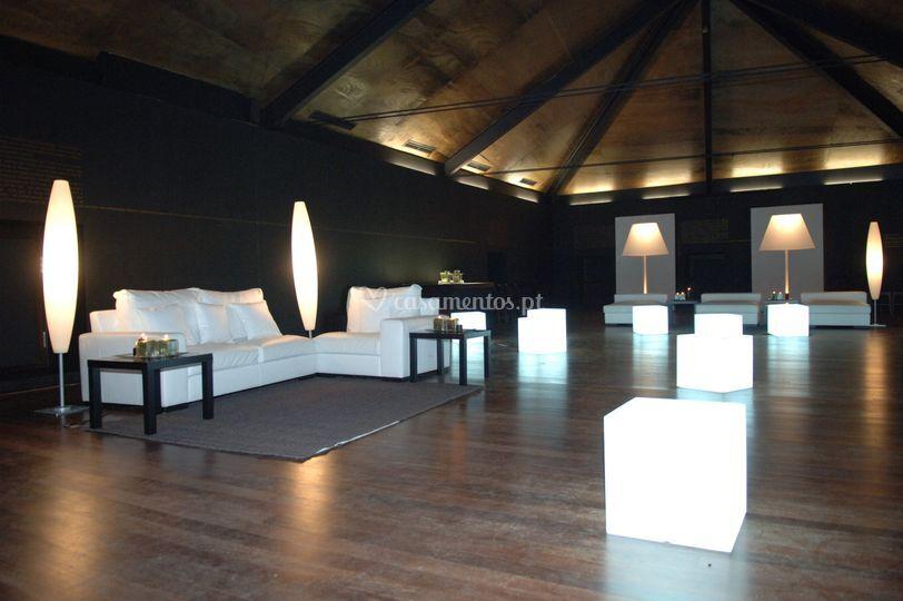 Interior do Salão de Eventos
