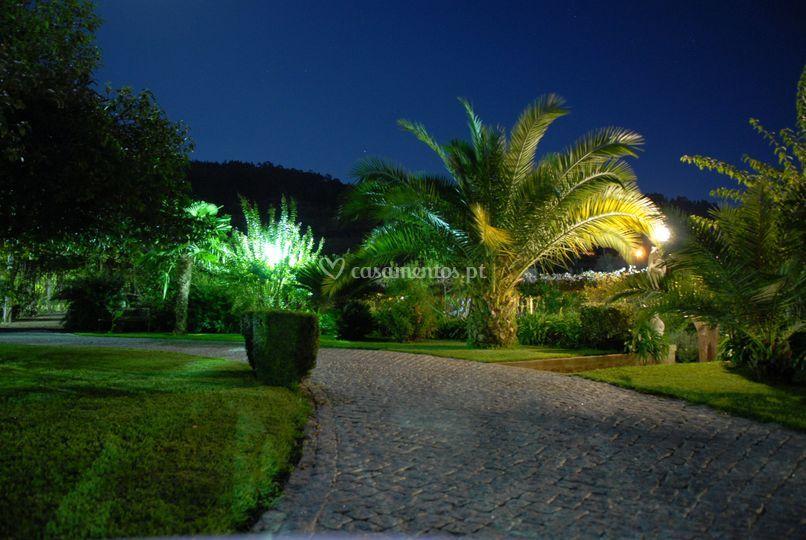 Jardins à noite