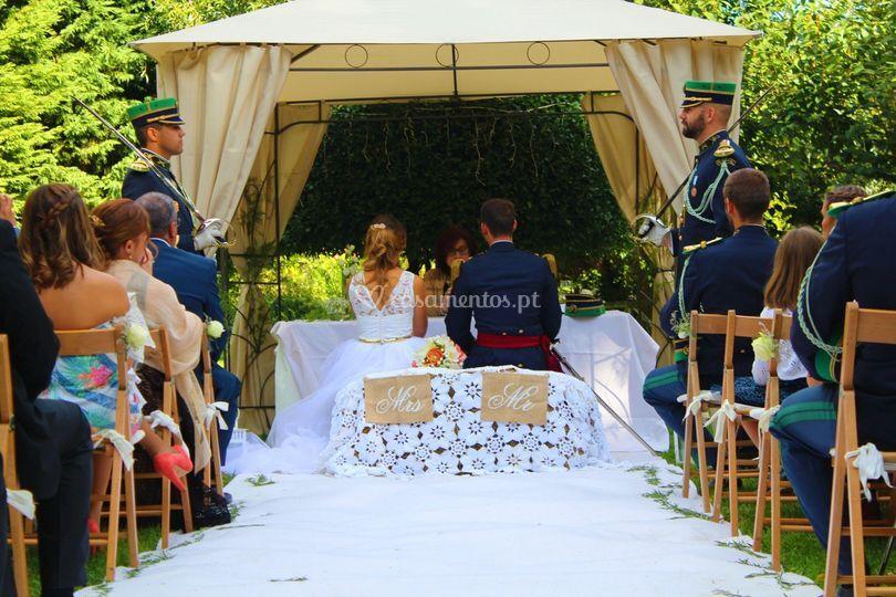 Organização Cerimónia